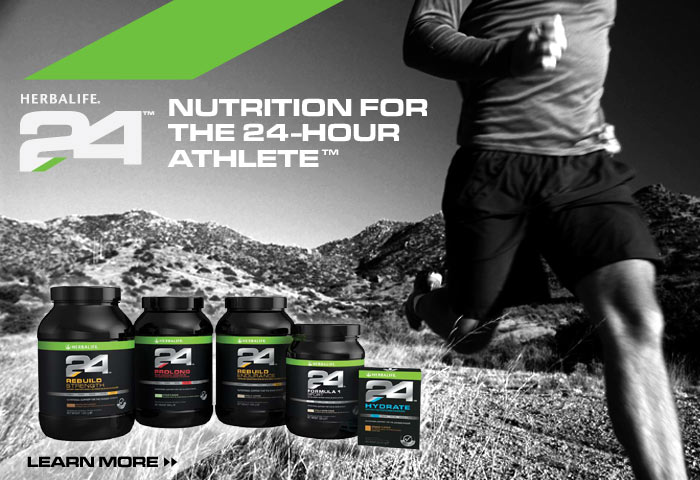 Herbalife24 — Nutrition solutions for for the 24-Hour athlete.
